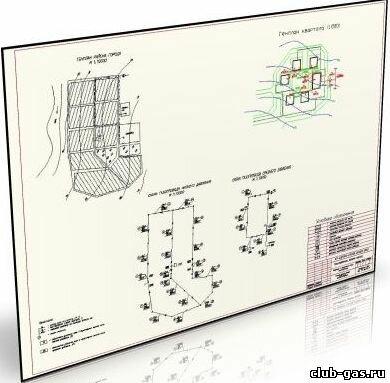 Система и схема газоснабжения